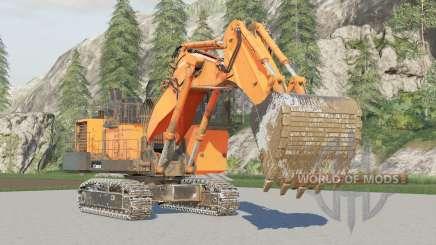Hitachi EX2600〡excavadora de minas para Farming Simulator 2017