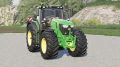 John Deere 6R series〡added luces adicionales para Farming Simulator 2017