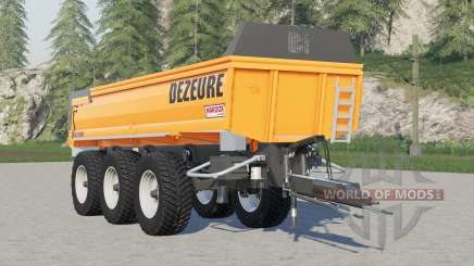 Dezeure TPX 36S para Farming Simulator 2017