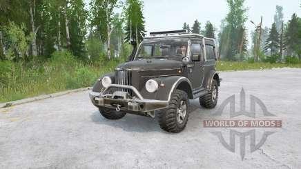 GAZ-69 modernizado para MudRunner