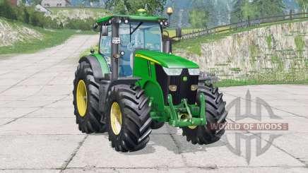 John Deere 7280R〡sistema de luces llenas para Farming Simulator 2015