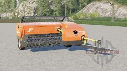 Gallignani 5690 S3〡small empacadora cuadrada para Farming Simulator 2017
