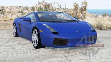 Lamborghini Gallardo 2005 v2.1 para BeamNG Drive