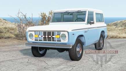 Ford Bronco Wagon 1975 para BeamNG Drive