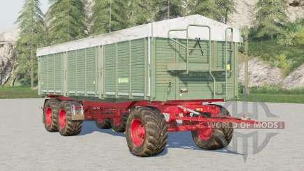 Kröger Agroliner HKD 402〡wooden walls para Farming Simulator 2017