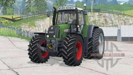 Ruedas traseras Fendt 820 Vario TMS〡dual para Farming Simulator 2015