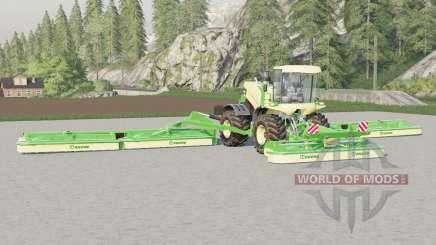 Krone BiG M 500〡anchura de trabajo de 22,6 metros para Farming Simulator 2017
