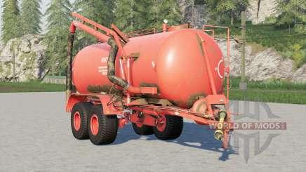 MZHT-10〡maquina para la aplicación de fertilizantes líquidos para Farming Simulator 2017