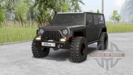 Jeep Wrangler Unlimited Rubicon (JK) 2006 para Spin Tires
